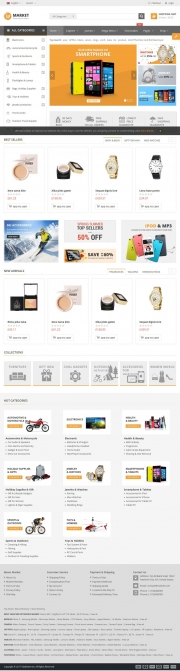 E Commerce premium multi purpose
